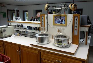 Photo: The lab at Chimay