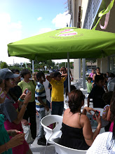 Photo: Happy Kids at Menchie's grand opening. Face Painting by Paola from http://www.BestPartyPalnner.net