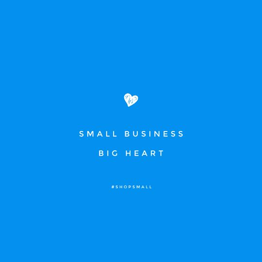 Small Business Big Heart - Instagram Post Template