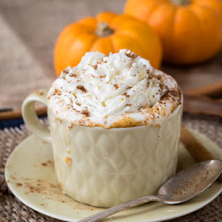 Hot Pumpkin Spice Drink (GF, Vegan and Dairy-Free Option).