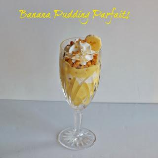 Banana Pudding Parfaits #SundaySupper