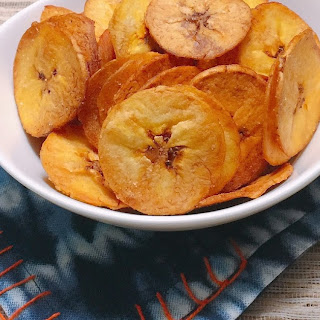 Crispy Plantain Chips.