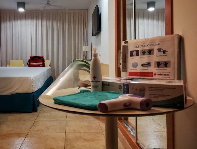 Se encuentran en el hotel Cabo de Gata de Senator Hotels & Resorts en El Toyo.