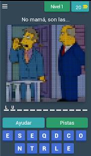 Adivina la frase Los Simpson - náhled
