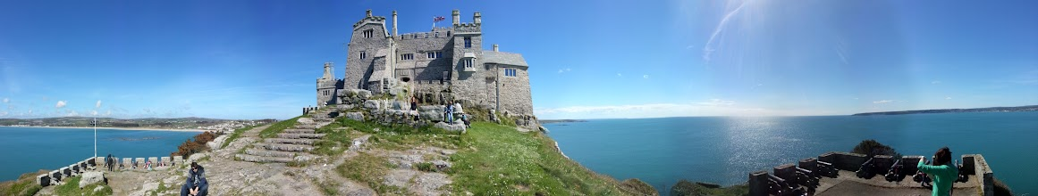 Photo: St Michael's Mount panorama.