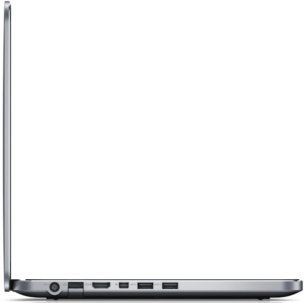 Photo: Dell XPS 14 laptop (left side view). More details here: http://dell.to/Oj6LIW
