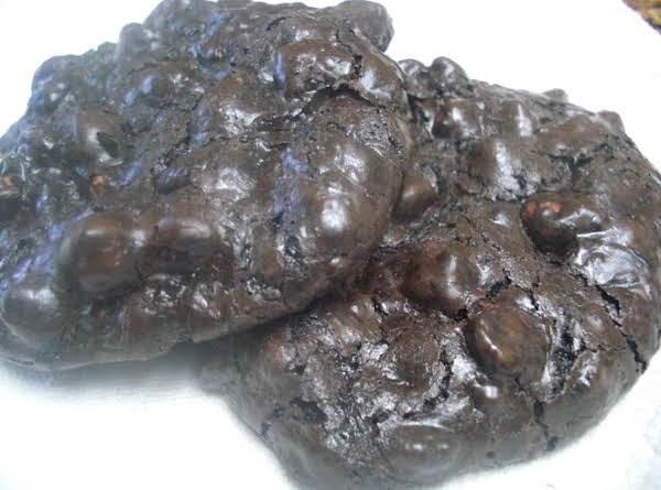 Chocolate Chocolate Brownie Cookie