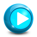 Hot music player icon