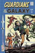 Photo: GUARDIANS OF THE GALAXY #5 VARIANT COVER. 2013. Ink(ed by Joe Rivera) on bristol board with digital color, 11 × 17″.