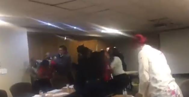 Fight breaks out in parliament over minimum wage