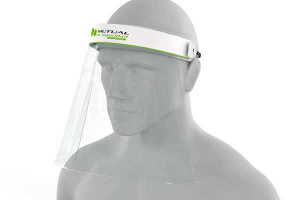 protector facial anti covid-19 perzonalizable para tu institución o negocio