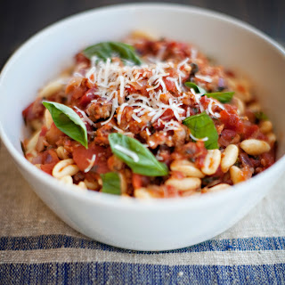 Cavatelli with Sardinian Meat Sauce