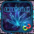Smoky Color Parallax Go Launcher Theme apk