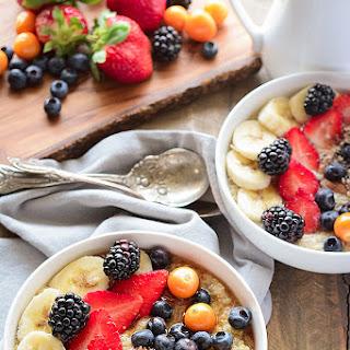 Breakfast Quinoa Bowl with Berries.
