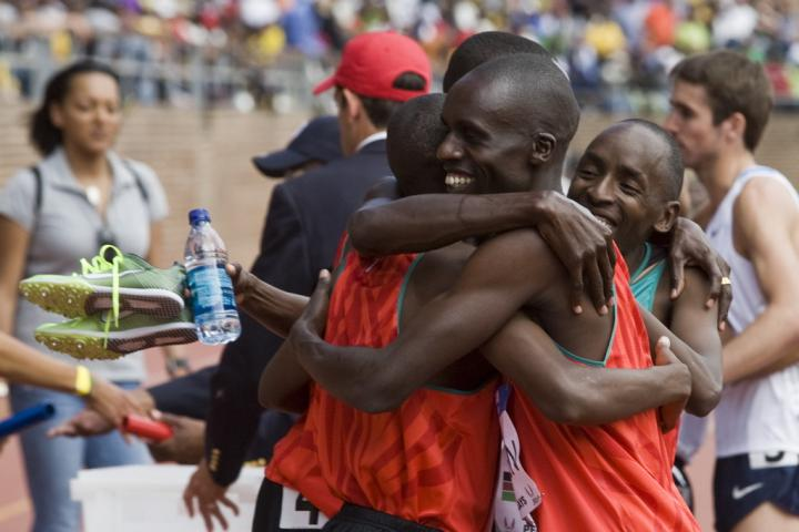 Kenya DMR Win Celebration