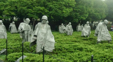 Photo: The Korean War Monument