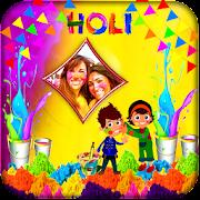 Holi Photo Frames Free
