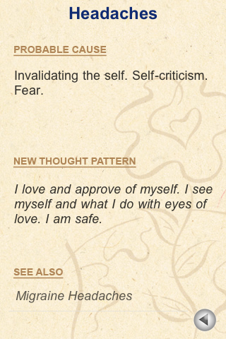 Heal Your Body A-Z -Louise Hay- screenshot