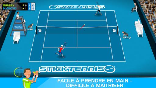 Stick Tennis  captures d'écran 1