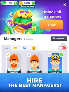 Mining Inc MOD APK 1.6.3 [Unlimited Money & Gold] 10