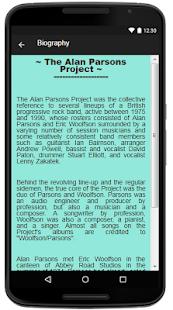 The Alan Parsons Project Lyrics - náhled