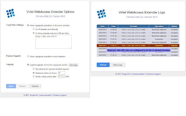 Virtel WebAccess Extender