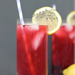 Blackberry Lavender Lemonade.