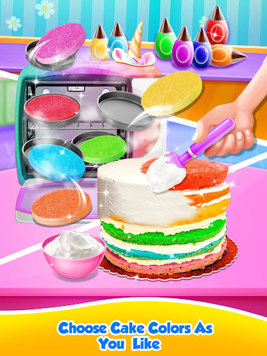 Unicorn Food - Sweet Rainbow Cake Desserts Bakery  {cheat|hack|gameplay|apk mod|resources generator} 2
