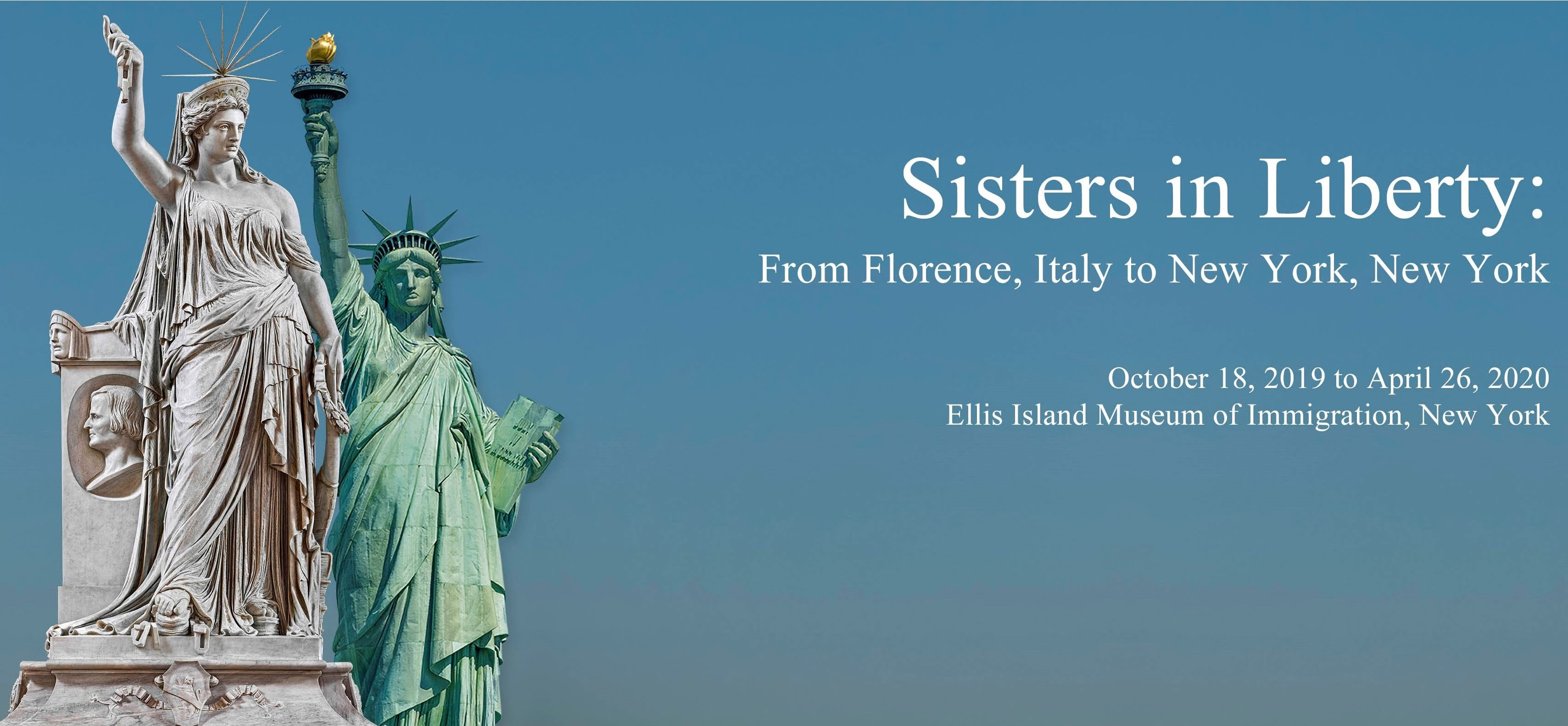 Sisters in Liberty: From Florence, Italy to New York, New York, Frédéric Bartholdi'sStatue of Liberty(1886) and her Italian twin, Pio Fedi'sLibertà della Poesia
