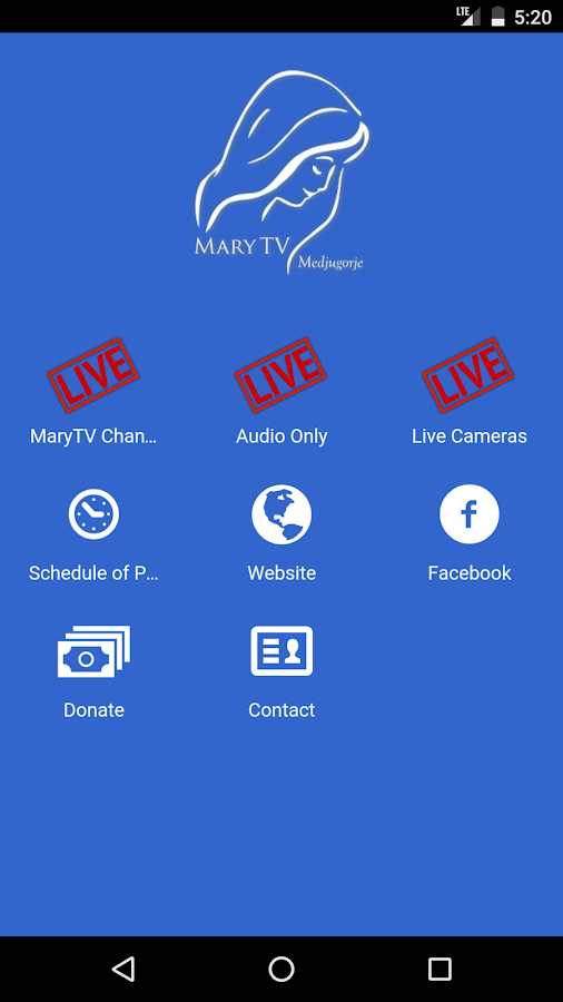 MaryTV- screenshot