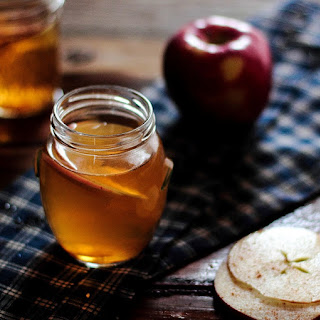Hot Bourbon Apple Cider.