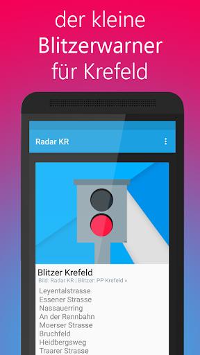 Radar KR - Blitzer in Krefeld