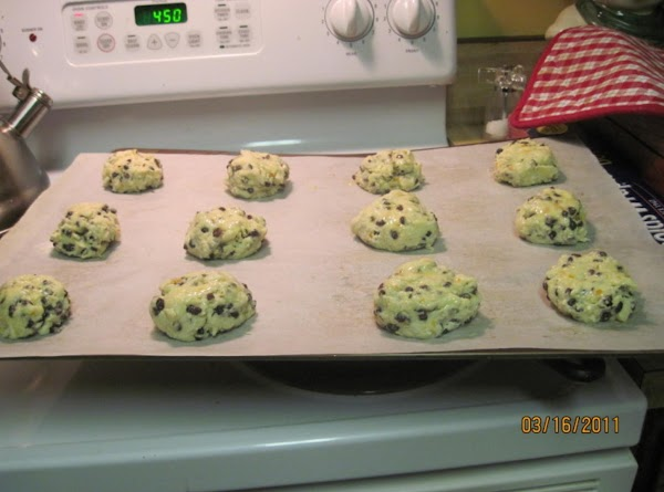 Pull off clumps to make 12 mini breads. I sometimes sprinkle these with a...