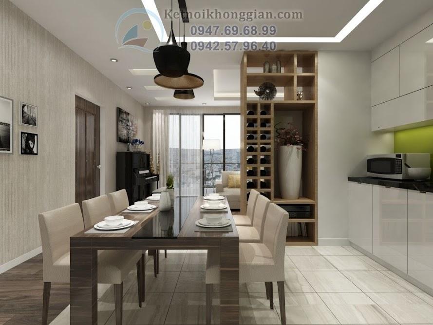 thiết kế phòng bếp, thiết kế chung cư