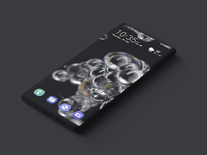 S20 One Ui Dark Live Wallpaper Theme Emui 10 Apps On Google Play