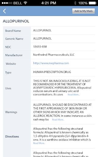 Pill Identifier and Drug list 4.2 screenshots 14