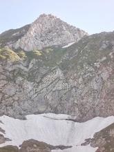 Photo: Le Valier Blanc ou l'Echine d'Ane