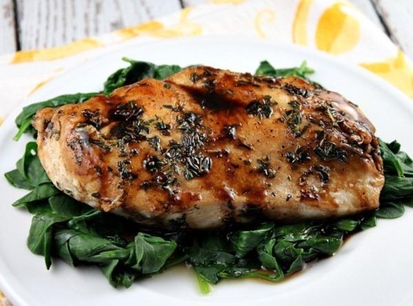 Balsamic- Glazed Chicken Recipe