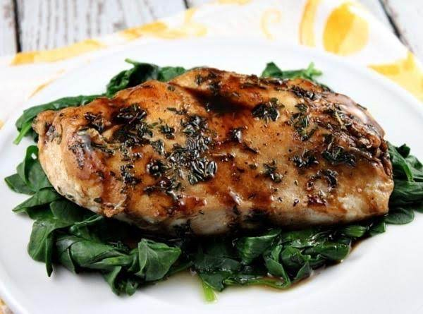 Balsamic- Glazed Chicken Recipe