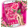 Pink Rose Love Theme APK icon