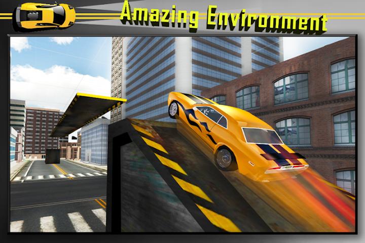 android Car Stunts Extreme Sim Screenshot 0