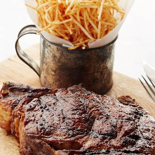 Grilled Cowboy Steak.