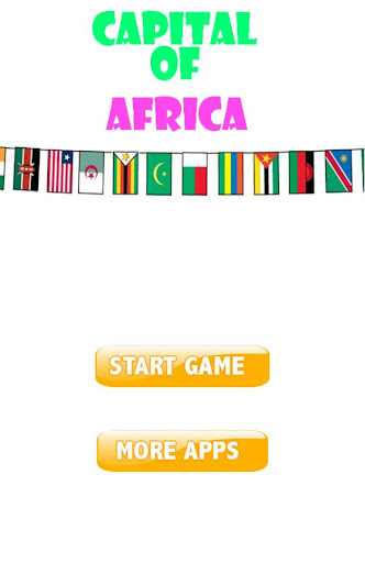 Africa Capital Quiz