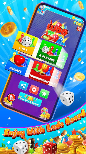 King of Ludo Dice Game with Voice Chat apkpoly screenshots 1