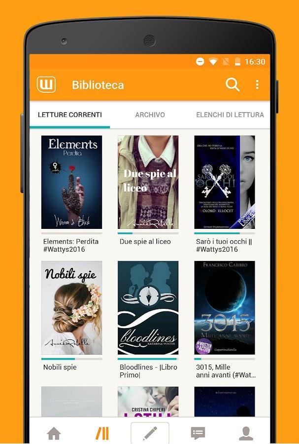 Libri Gratuiti Wattpad App Android Su Google Play