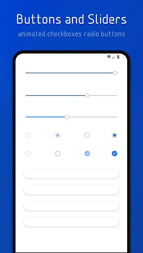 Screenshot for Flux White - Substratum Theme in Hong Kong Play Store