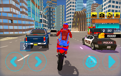 Code Triche Super Stunt Hero Bike Simulator 3D APK MOD screenshots 2