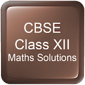 CBSE Class XII Maths Solutions