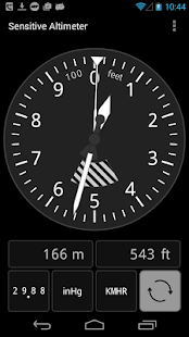 Sensitive Altimeter- screenshot thumbnail