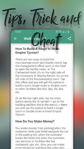 New Guide Hotel Empire Tycoon 2.0.0 Mod screenshots 4